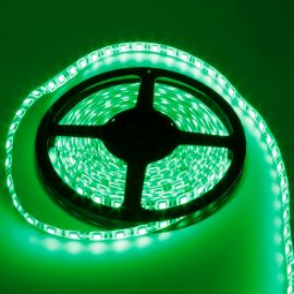 LED pásek zelená délka 1 metr, SMD 5050, 60LED/m - vodotěsný (silikagel) - IP65 STRF 5050-60-G-IP65