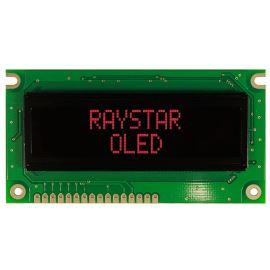 Alfanumerický OLED displej Raystar REC001602ERPP5N00000