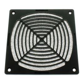 Ochranná plastová mřížka s filtrem pro ventilátory 120x120mm SUNON 12D-1