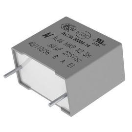Fóliový kondenzátor odrušovací X2 680nF/275V RM 27.5mm 32x17x9mm Kemet R46KR368000M1K