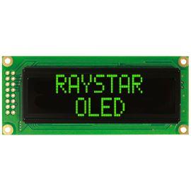 Alfanumerický OLED displej Raystar REC001602CGPP5N00000