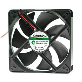 Ventilátor 120x120x25mm 24V DC/207mA 44.5dB SUNON MEC0252V1-000U-A99