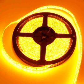 LED pásek žlutá délka 1 metr, SMD 3528, 120LED/m - vodotěsný STRF 3528-120-Y-IP65