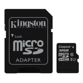 Paměťová karta + adaptér Micro SDHC 32GB Class 10 KINGSTON
