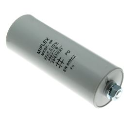 Rozběhový kondenzátor I150V 45uF/450V ±10% Faston 6.3mm Miflex I150V645K-B1