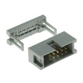 Konektor pro ploché kabely 10 pinů (2x5) RM2.54mm na kabel přímý Connfly DS1015-10NN0A