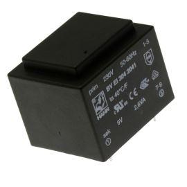 Trasnformátor do DPS 2.6VA/230V 1x9V Hahn BV EI 304 2041