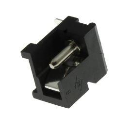 Napájecí konektor souosý 5.5/2.1mm vidlice úhlová 90° do panelu se spínačem Cliff FC681485