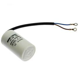 Rozběhový kondenzátor CBB60F 8uF/450V ±5% Očka M4 na kabelu SR PASSIVES CBB60F-8/450