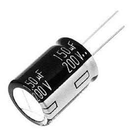 Elektrolytický kondenzátor radiální E 2200uF/10V 12.5x20 RM5 105°C PANASONIC EEUEB1A222