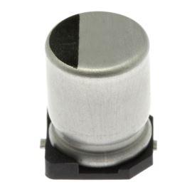 Elektrolytický kondenzátor SMD 10uF/50V 6.3x5.3 85°C Samwha SC1H106M6L005VR