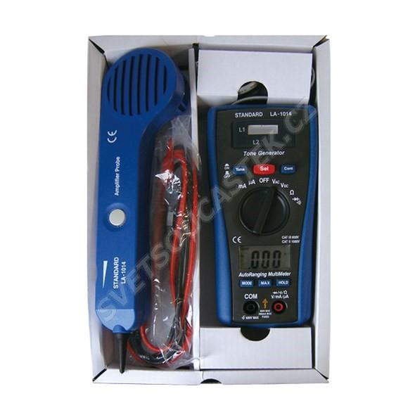 Multimetr, tester a zkoušeč vedení LA-1014 (LSG-4 DMM)