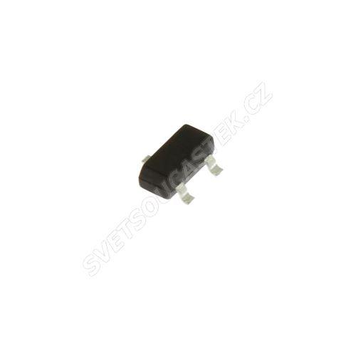 Tranzistor digitální NPN 50V 0.1A SMD SOT23 200mW Infineon BCR108