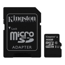 Paměťová karta + adaptér Micro SDHC 16GB Class 10 KINGSTON