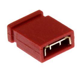 Červený JUMPER uzavřený RM2.54mm Xinya 116-A-G 2