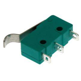 Mikrospínač na faston 3.2mm přepínací 1-pólový ON-(ON) 5A 125/250V AC Jietong  MSW-14