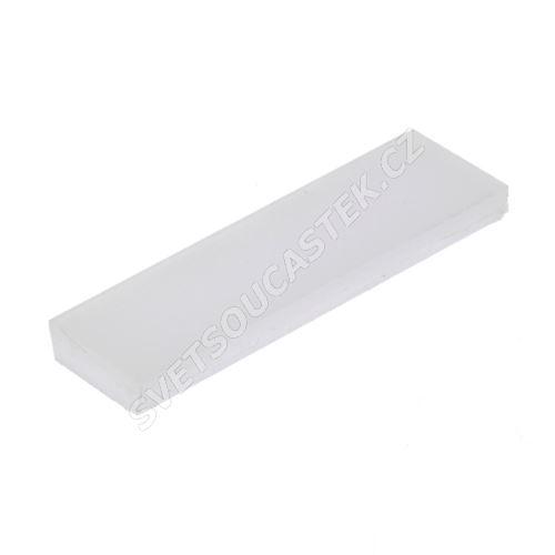 Difuzor pro hliníkový profil HR-ALU mléčný 1 metr KLUŚ 0945