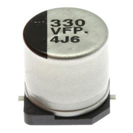 Elektrolytický kondenzátor SMD 330uF/35V 10x10.2 SMD 105°C Panasonic EEEFP1V331AP