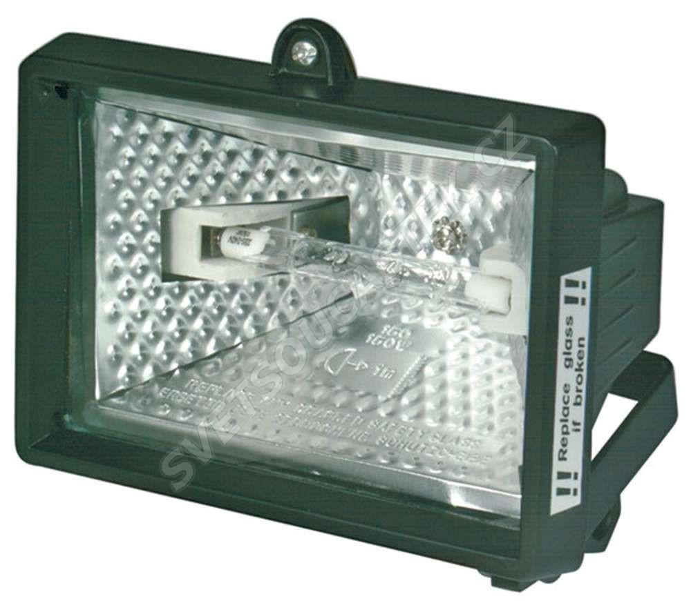 Halogenový reflektor 150W černý