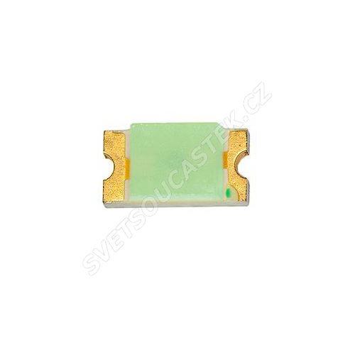 LED SMD vel. 0603 zelená 50mcd/130° Hebei 0603KGCT