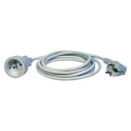 Prodlužovací kabel bílý 3x1,0mm 1 zásuvka 1.5m