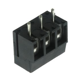 Šroubovací svorkovnice do DPS 3 kontakty 24A/250V RM 5.08mm šedá barva PTR AKZ120/3DS-5.08-V-GREY