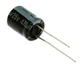 Miniatur-Elkos radial 25V 20% 85°C (SKR471M1EG13M)