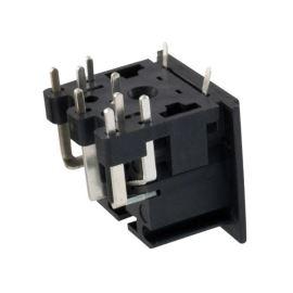 Konektor DIN 8 zásuvka do DPS Connfly DS1093-07-BN80