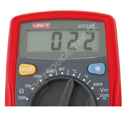 Digitální multimetr UNI-T UT33C