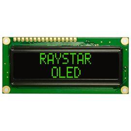 Alfanumerický OLED displej Raystar REC001602AGPP5N00001