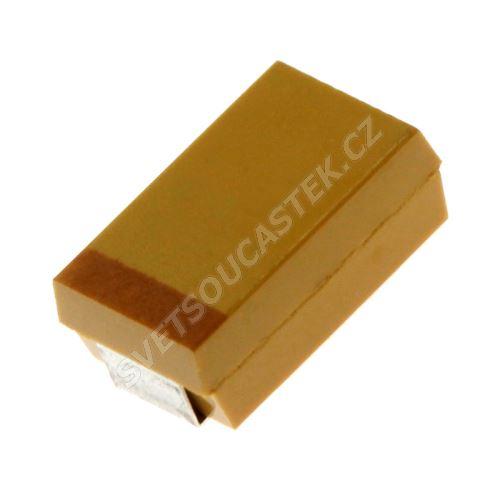 Tantalový kondenzátor SMD CTS 100uF/16V D 10% AVX TAJD107K016R
