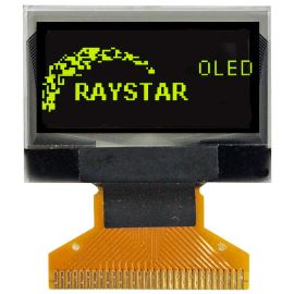 Grafický OLED displej Raystar RET012864DYPP3N00000