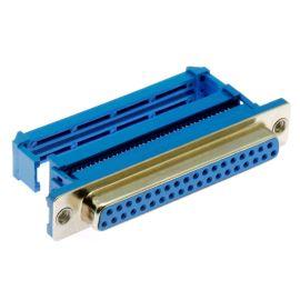 Konektor CANON samořezný 37 pinů zásuvka na kabel přímá Xinya 103-37 S M B 1