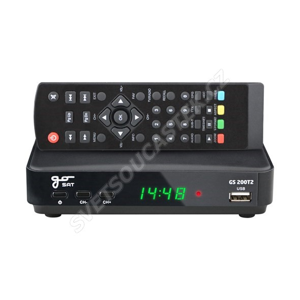 Set-top box GoSAT GS200DVBT2