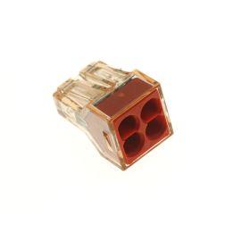 Wago svorka krabicová transparentní 400V/32A WAGO 773-604