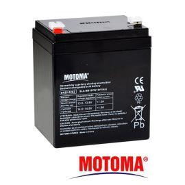Olověný akumulátor 12V 5Ah MOTOMA (bezúdržbový akumulátor)