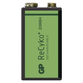 Nabíjacie batérie GP ReCyko+ 150 6F22 (8,4V), 1 ks v blistri
