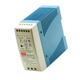 Průmyslový napájecí zdroj na DIN lištu 60W 12V/5A Mean Well MDR-60-12