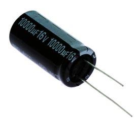Elektrolytický kondenzátor radiální E 10000uF/16V 18x35 RM7.5 85°C Jamicon SKR103M1CL35M