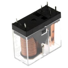 Elektromagnetické relé s DC cívkou do DPS 24VDC 16A/250VAC Omron G2R-1A-E 24VDC
