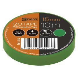 Izolačná páska PVC zelená 15mm / 10m