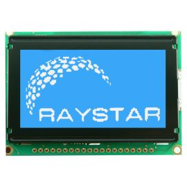 Grafický LCD displej Raystar RG12864B-BIW-V