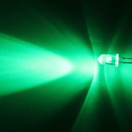 LED 5mm zelená 16000mcd/40° čirá Hebei 540PG2C