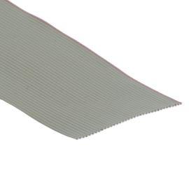 Plochý kabel AWG28 36 žil licna rozteč 1,27mm PVC šedá barva