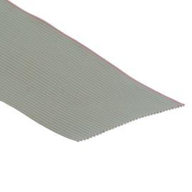 Plochý kábel AWG28 36 žil licna rozteč 1,27mm PVC šedá farba