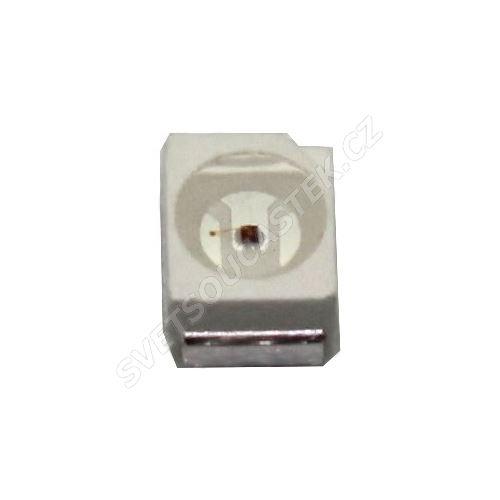 LED SMD PLCC2 stud. bílá 1500mcd/120° Hebei PLCC2LW6CT