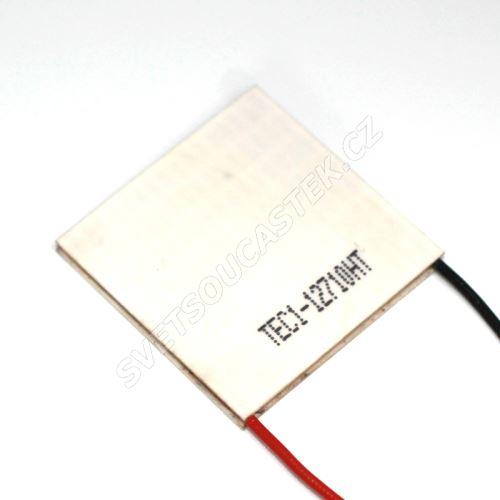 Peltierův článek 100W 40x40mm Hebei TEC1-12710HT