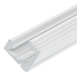 Lišta na LED pásky 45-ALU bílá lakovaná KLUŚ B4023L9010 1m