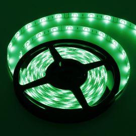 LED pásek zelená délka 1 metr, SMD 5050, 30LED/m - vodotěsný (silikagel) - IP65 STRF 5050-30-G-IP65