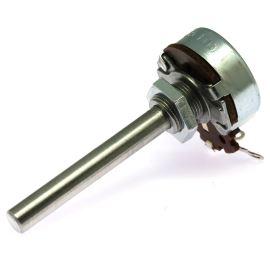 Potenciometr drátový 4W MONO 50R Ohm lineární AB Elektronik AW 50R